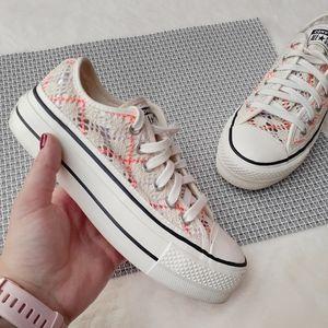 Converse Crochet Platform Chucks Sneaker Spring